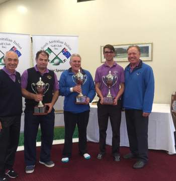 Vines Golf Club May 2016 - Club Champions 2016