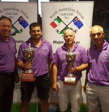 West Lakes Golf Club May 2017 - Club Champions 2017