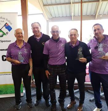 Mt Barker Golf Club Sept 2017 - Presidents Cup Winner